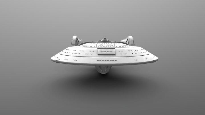 USS Enterprise (Star Trek) 3D Model