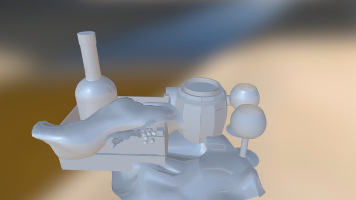 Bodegón 3D Model