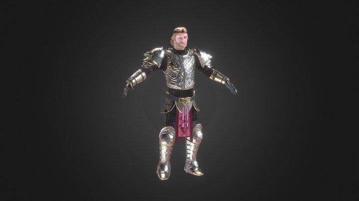 Knight King 3D Model