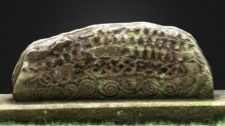 South-east Hogback, Giant's Grave, Penrith 3D Model