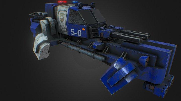 Space Police 3D Model