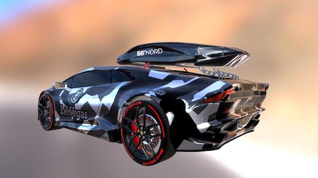 Lamborghini Huracan - Jon Olsson edition! 3D Model