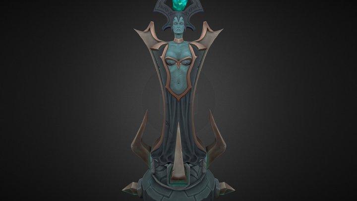 Riot Art Contest 2014 League of Legends turret 3D Model