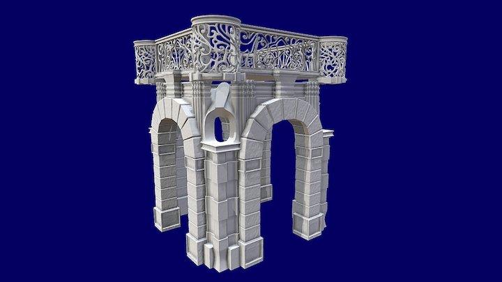 archi variazione tema 3D Model
