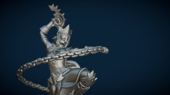 Fire Dancer - Lastra 3D Model