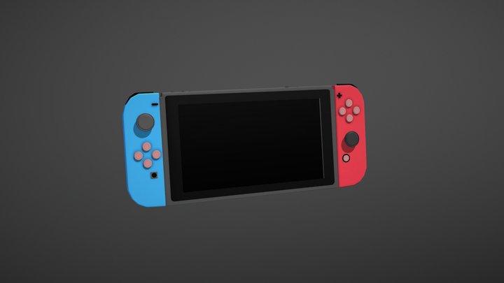 Nintendo Switch 3D Model