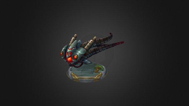 Battlecast Velkoz 3D Model