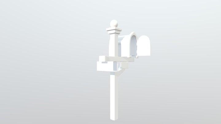 Mail Box (Usa) 3D Model