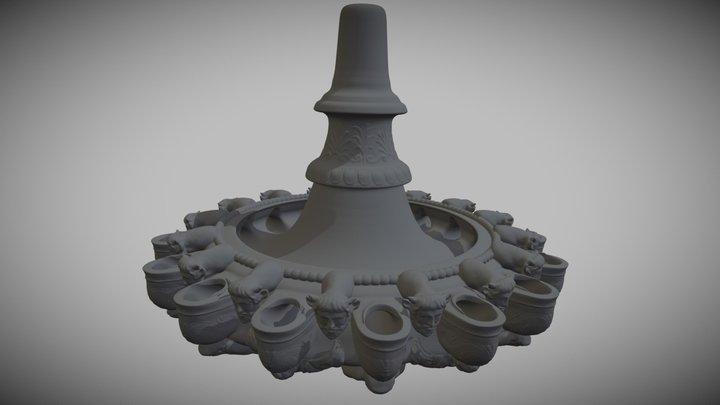 Lampadario Etrusco 3D Model