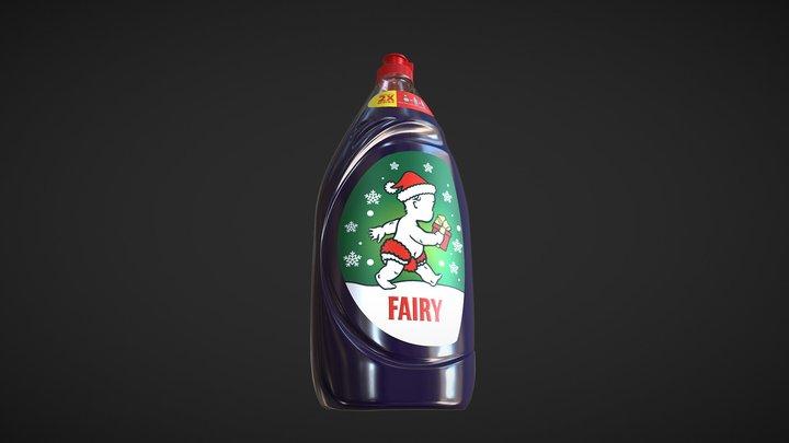 P&G Fairy Bottle 3D Model