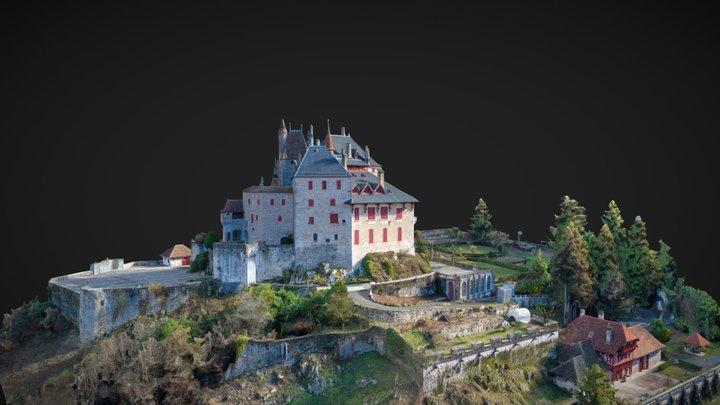 Château de Menthon-Saint-Bernard 3D Model