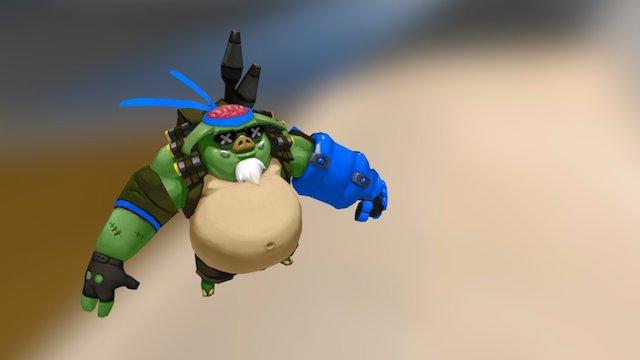 Main Hero 3D Model