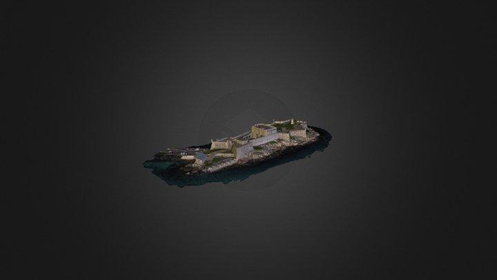 CASTILLO DE SAN ANTON 3D Model