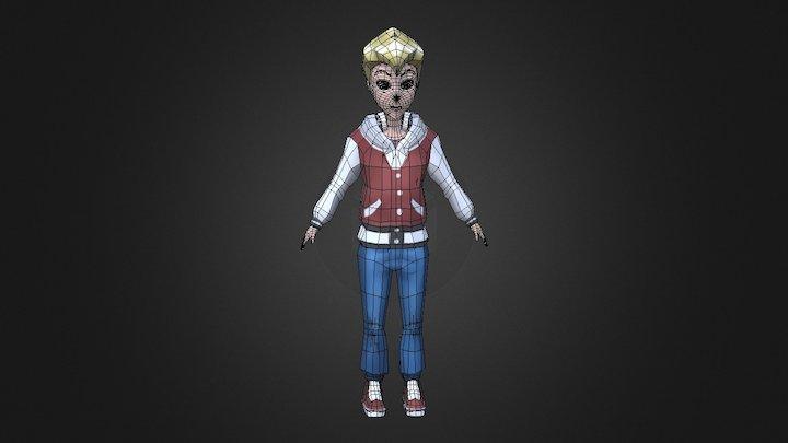 Greg - Original Cartoon 3D Model 3D Model
