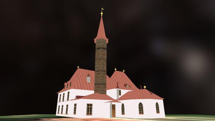 Приоратский дворец 3D Model