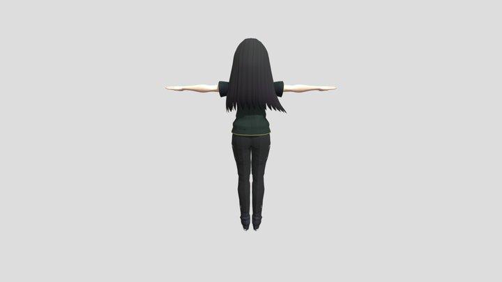AnimePepper 3D Model