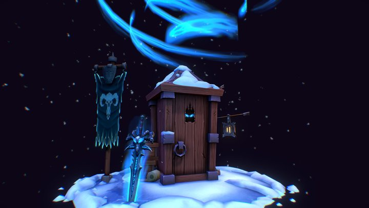 """5 Minutes before """"Wrath of the Lich King"""" 3D Model"""