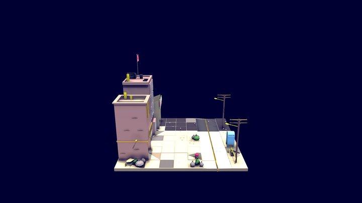 Mini ville 3D Model