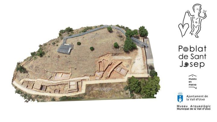 Modelo 3D del Poblado de San José 2019 3D Model