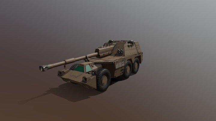 G6-45 (SADF) 3D Model