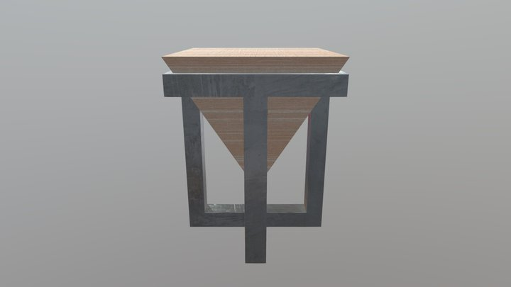 Menagerie Ryad End Table 3D Model