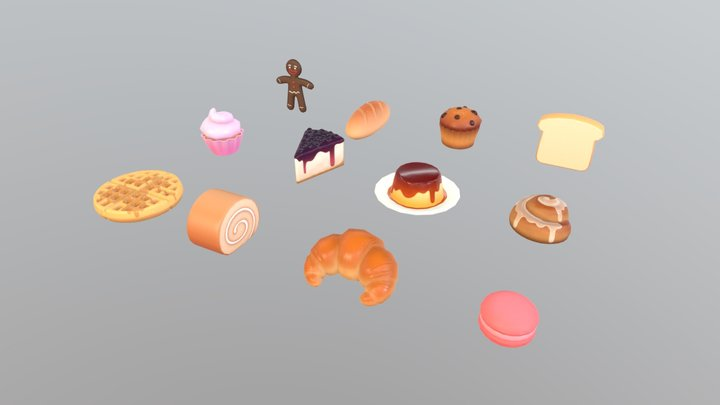 Food Pack 03 3D Model
