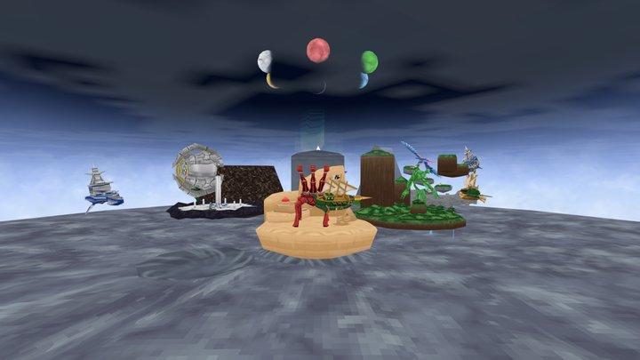 VG Remix - Skies of Arcadia 3D Model