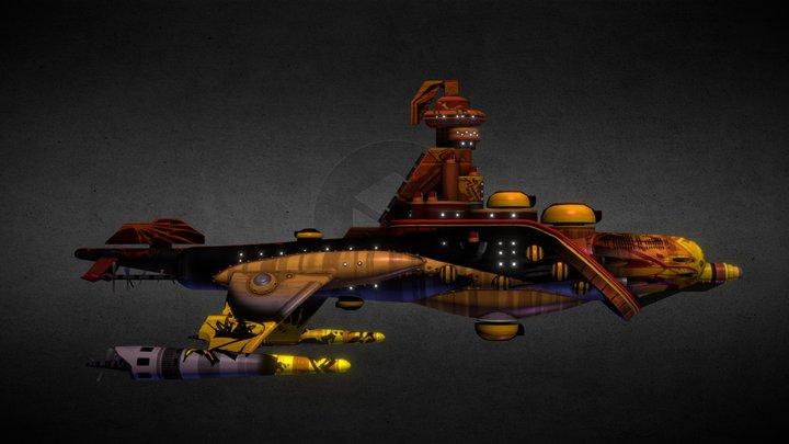 """Atlantica """"Redeye's Revenge 3D Model"""