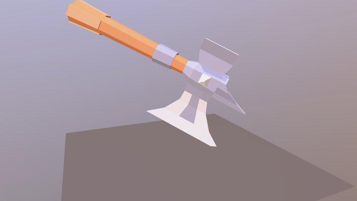 Ax Model 3D Model