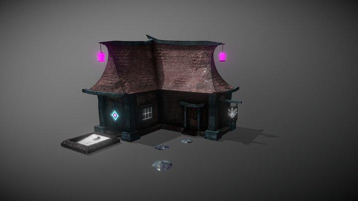 Fantasy Cottage 3D Model