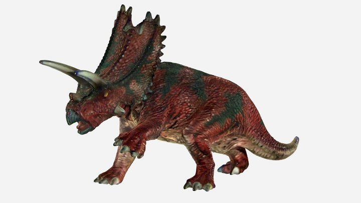 Pentagon dinosaur by EinScan-S 3D Model