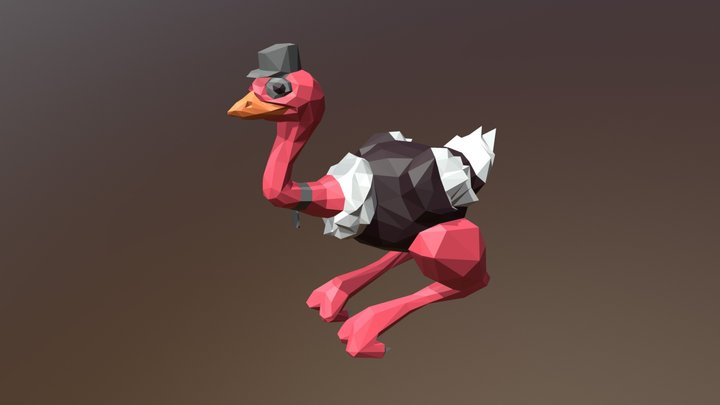 Roadie the Runner 3D Model