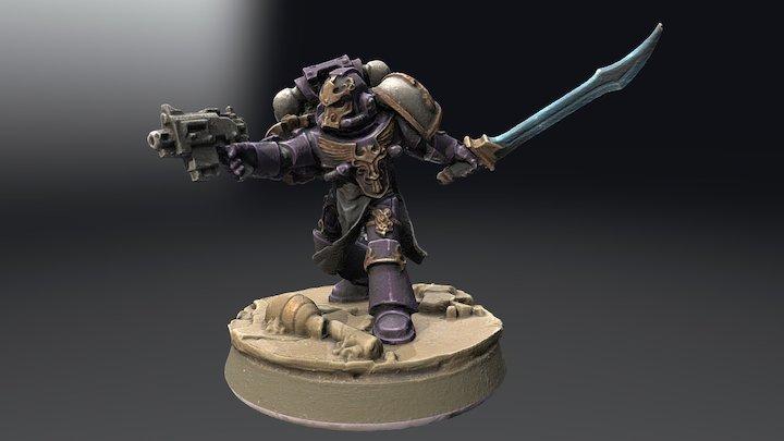 Ravasch Cario, of the Emperor's Children 3D Model