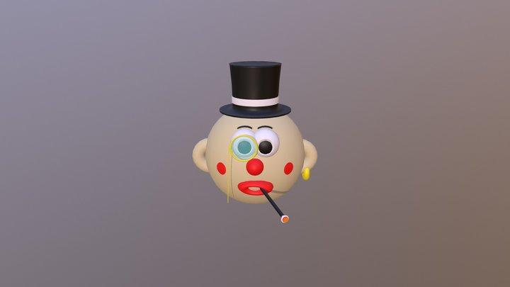 Mr. Monocle 3D Model