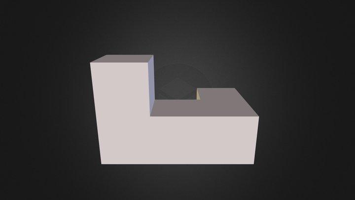 White Part 3D Model