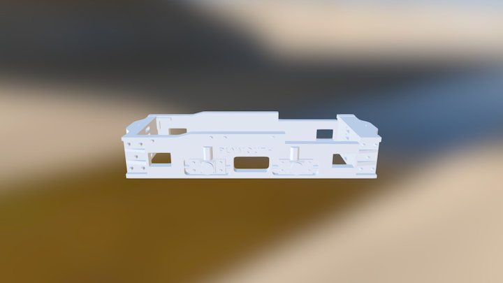 PLYMOUTH loco Frame only 3D Model