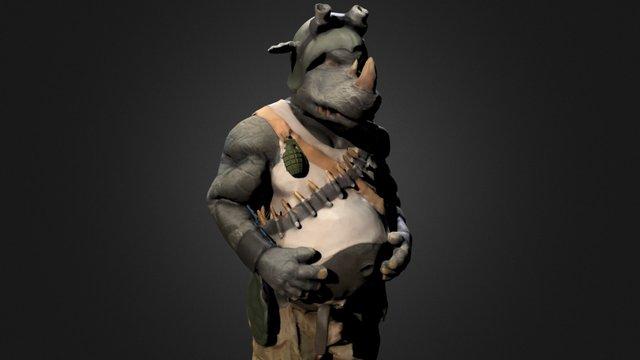 Grenade fix 3D Model