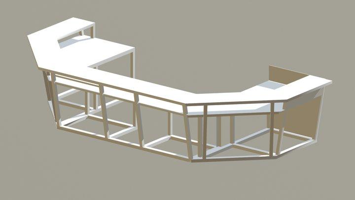 Bar V2 Complete 3D Model