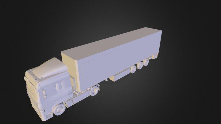 DAF XF 3D Model