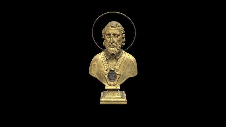 (1) Busto reliquiario / Reliquary  bust 3D Model