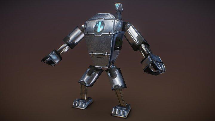 Mech for #256fes 3D Model