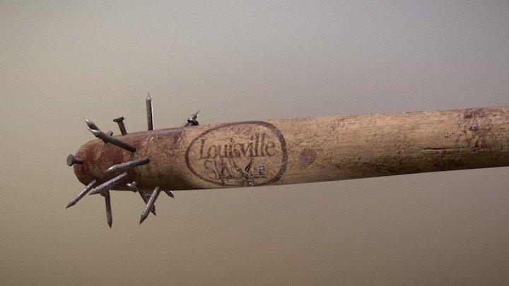 Louisville Slayer 3D Model