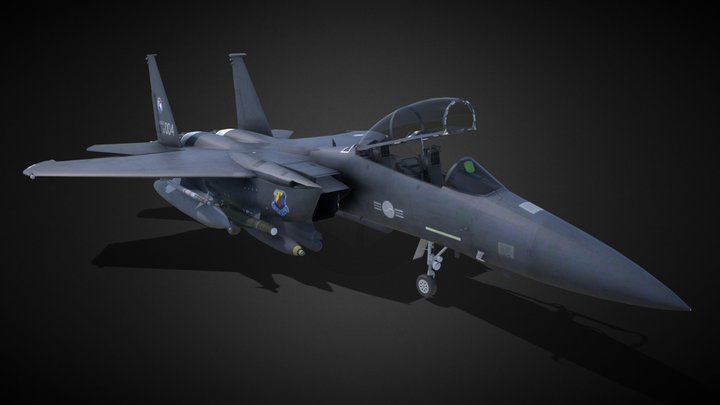 Jet_fighter 3D Model