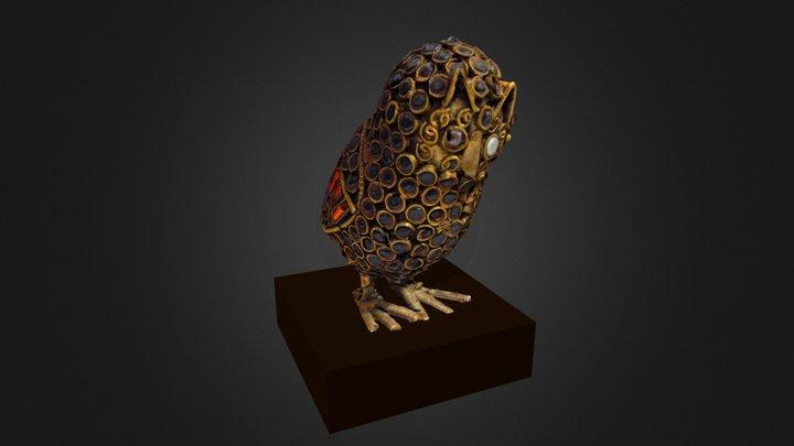 Figurine Hibou Iranienne / Iranian Owl Figurine 3D Model