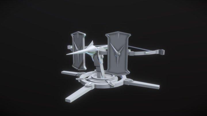 Lowpoly_XYZ_Homework 3D Model