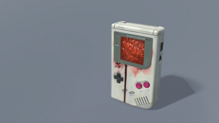 Dot Matrix With Stereo Sound 3D Model