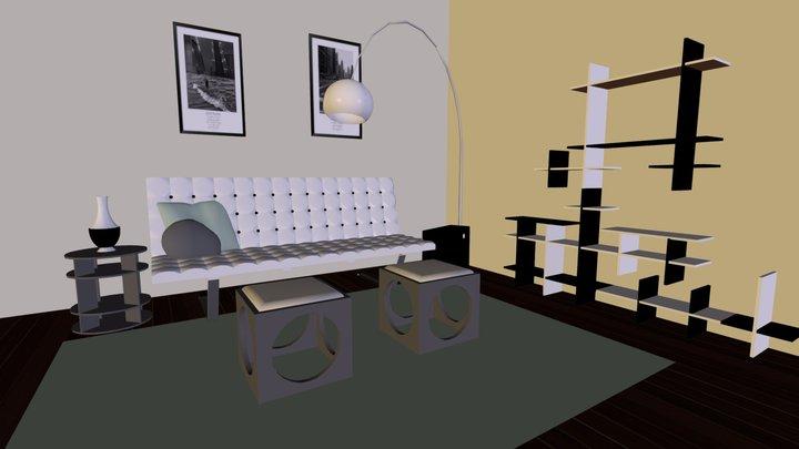 Formanosque - Salon 3D Model