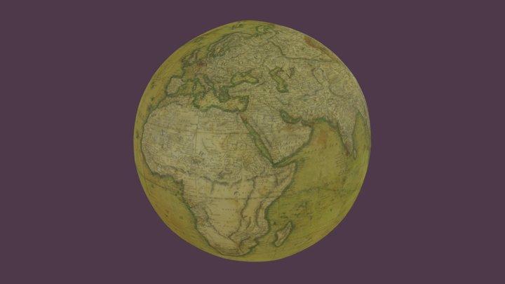 Terrestrial globe o 3D Model
