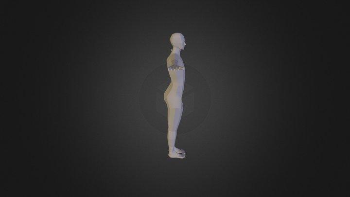 Low Poly Base 3D Model