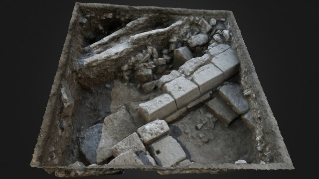 Roman Legionary Camp - Legio VI Ferrata 3D Model